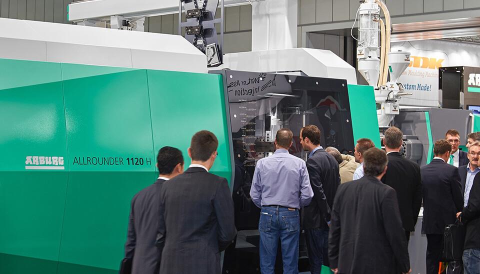 מכונות הזרקת פלסטיק של חברת ARBURG ALL AROUND 1120H