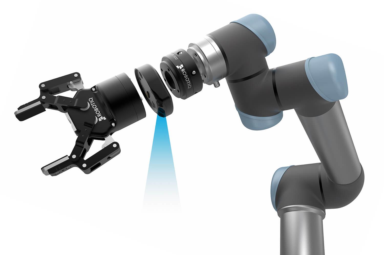 אבזרי קצה לזרועות רובוטיות- Robotiq