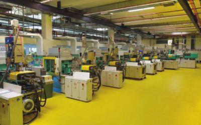 מכונות ארבורג במפעל תב-מדיקל