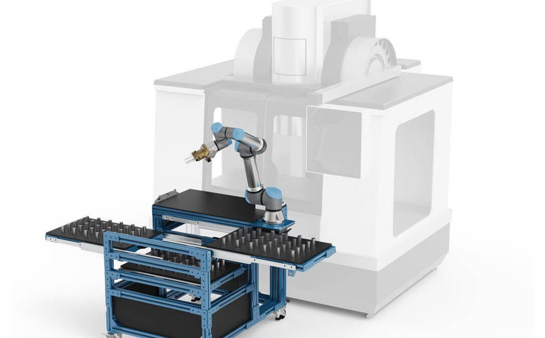 יישום קובוטים בתעשיית המתכת עם החזר השקעה מהיר
