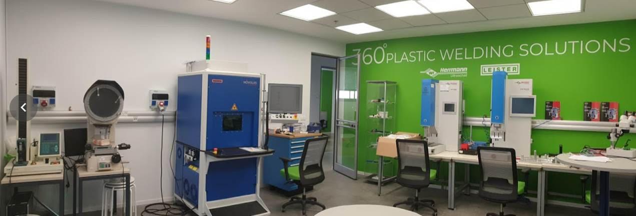 מעבדת ריתוך מתקדמת: המעבדה בחברת SU-PAD