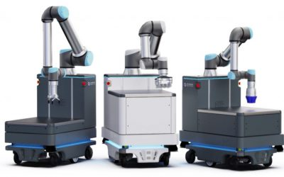 תמונה 2: הרובוטים בסדרת ER-FLEX. LOW (שמאל), MEDIUM (ימין) ו-HIGH (אמצע).
