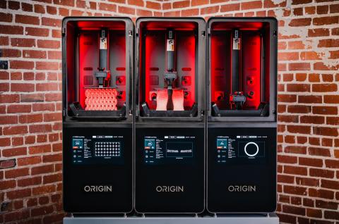 הדפסת תלת ממד בטכנולוגית פוטו-פולימריזציה של חברת Origin