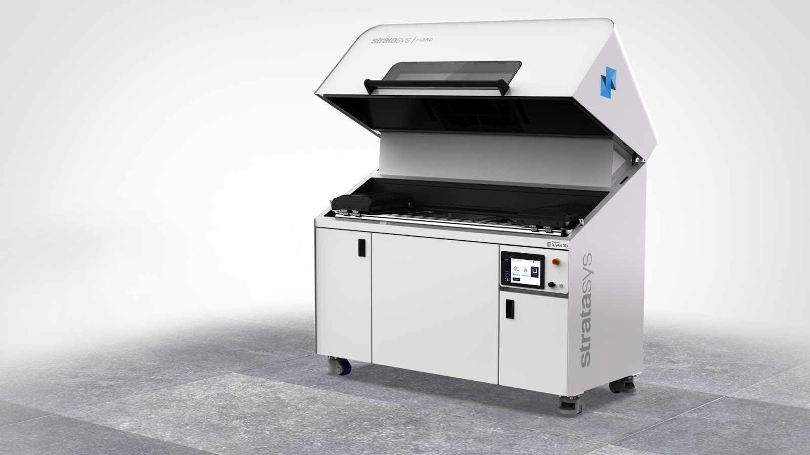 H350 Right Angle Open Hood Faded Floor