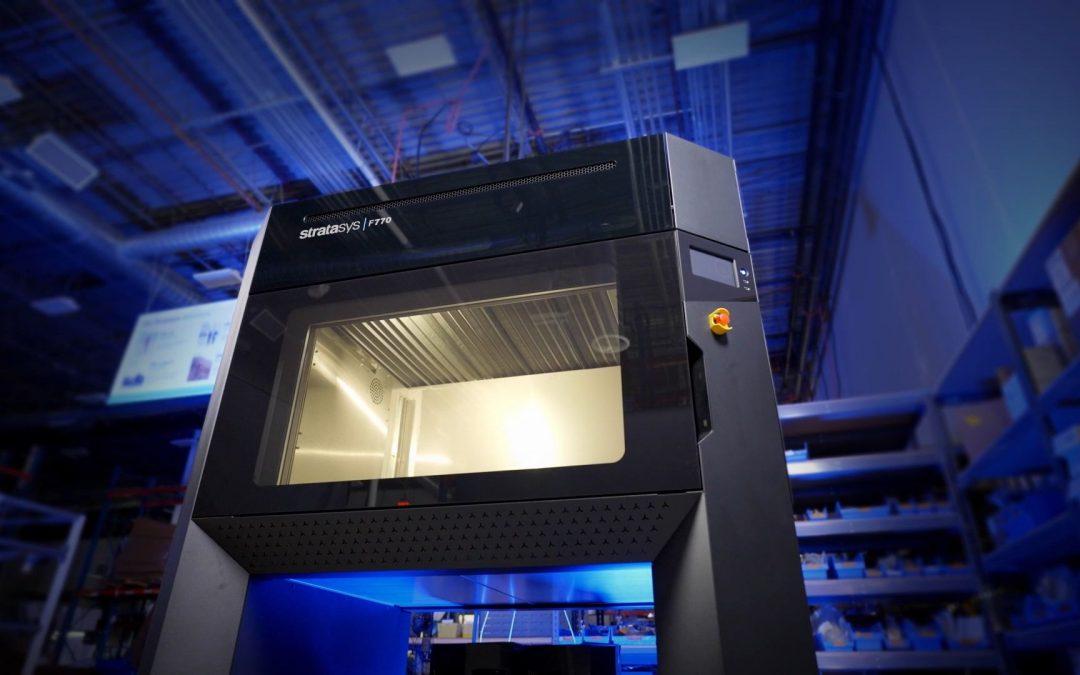 מדפסות תלת-מימד בטכנולוגיות חדשות: משהו טוב קורה ב- Stratasys